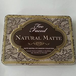 Too faced natural matte neutral eyeshadow palette